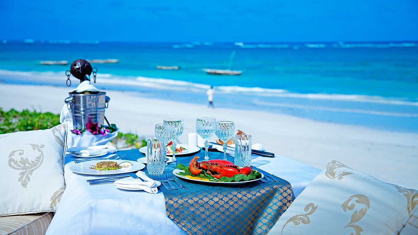 AfroChic Beach-side Lunch