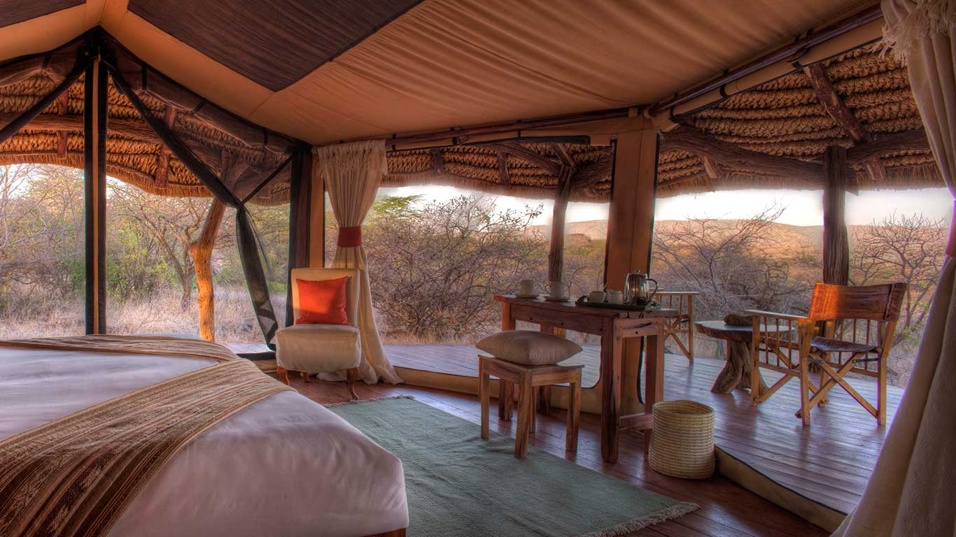 Lewa Safari Camp Tent Interior 2