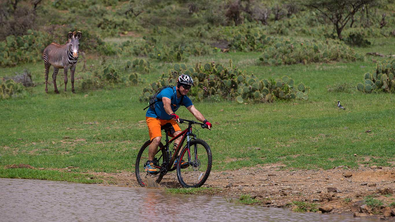 Elewana Loisaba Tented Camp Activities Biking Landscape 2