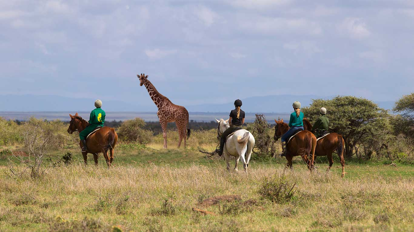 Elewana Loisaba Tented Camp activities horse riding in the conservancy Mario Moreno 3