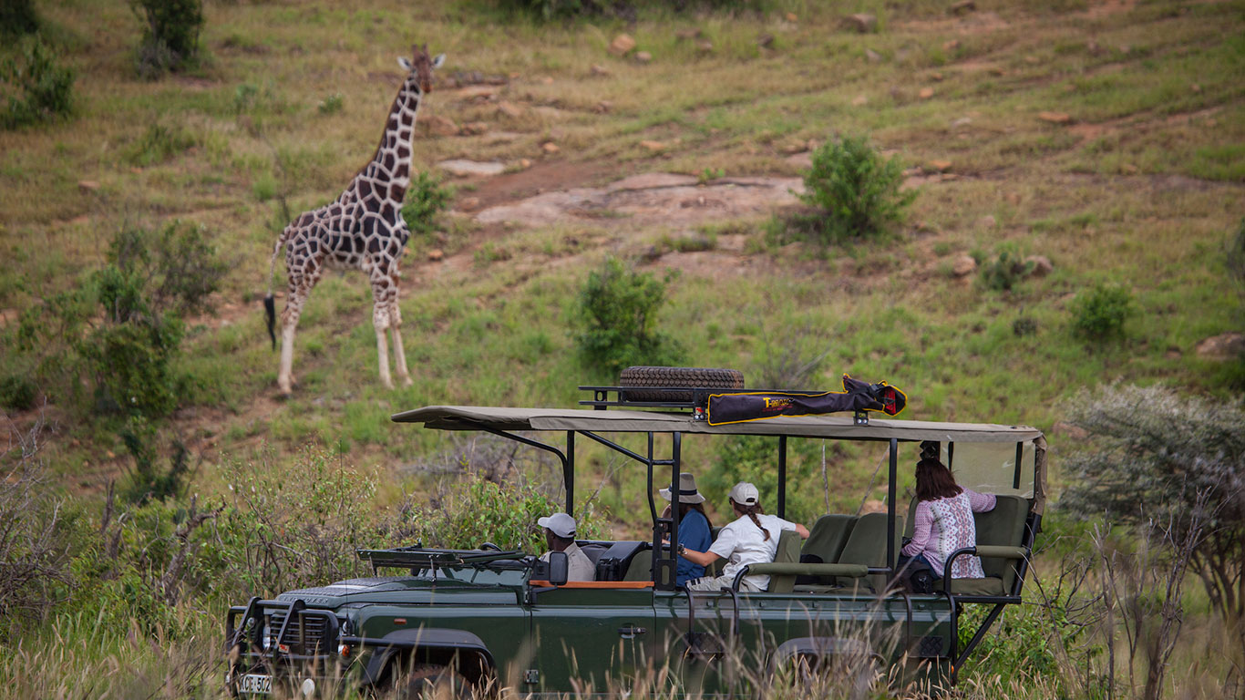 Loisaba activities game drives