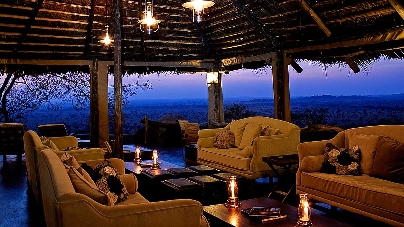 Serengeti Pioneer Camp Lounge