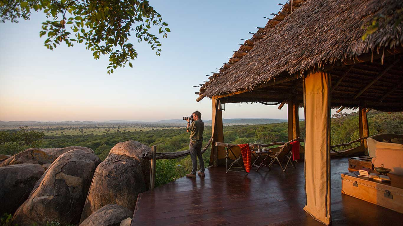 Serengeti Pioneer Camp Lounge View