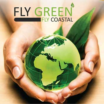 Coastal Airline Goes Green