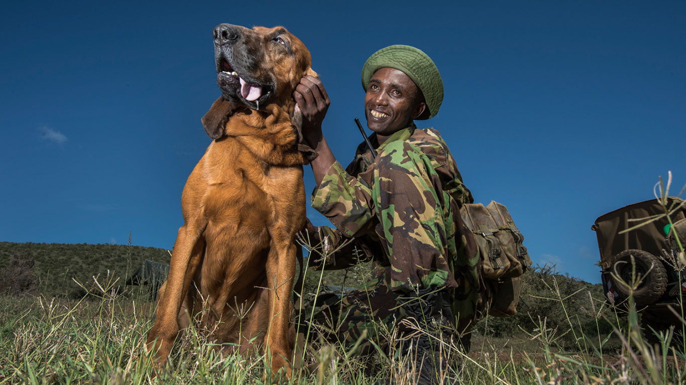 Anti Poaching Team Lewa