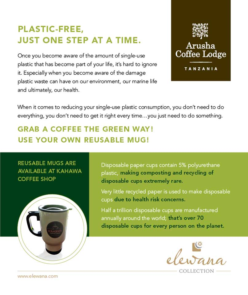 Elewana Collection - Elewana Arusha Coffee Lodge takes steps
