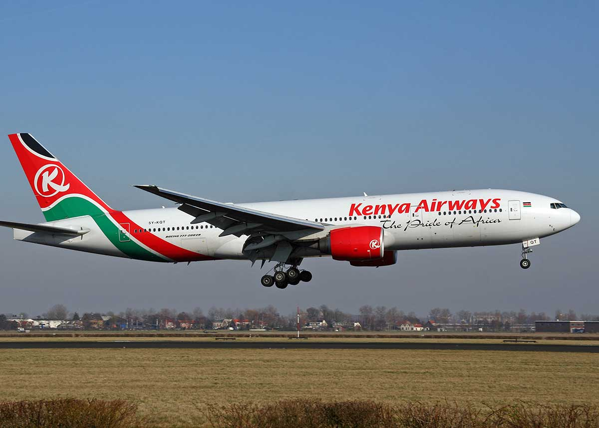 Kenya Airways 5Y-KQT