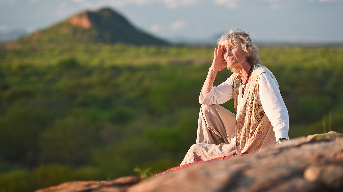 Virginia McKenna in Meru