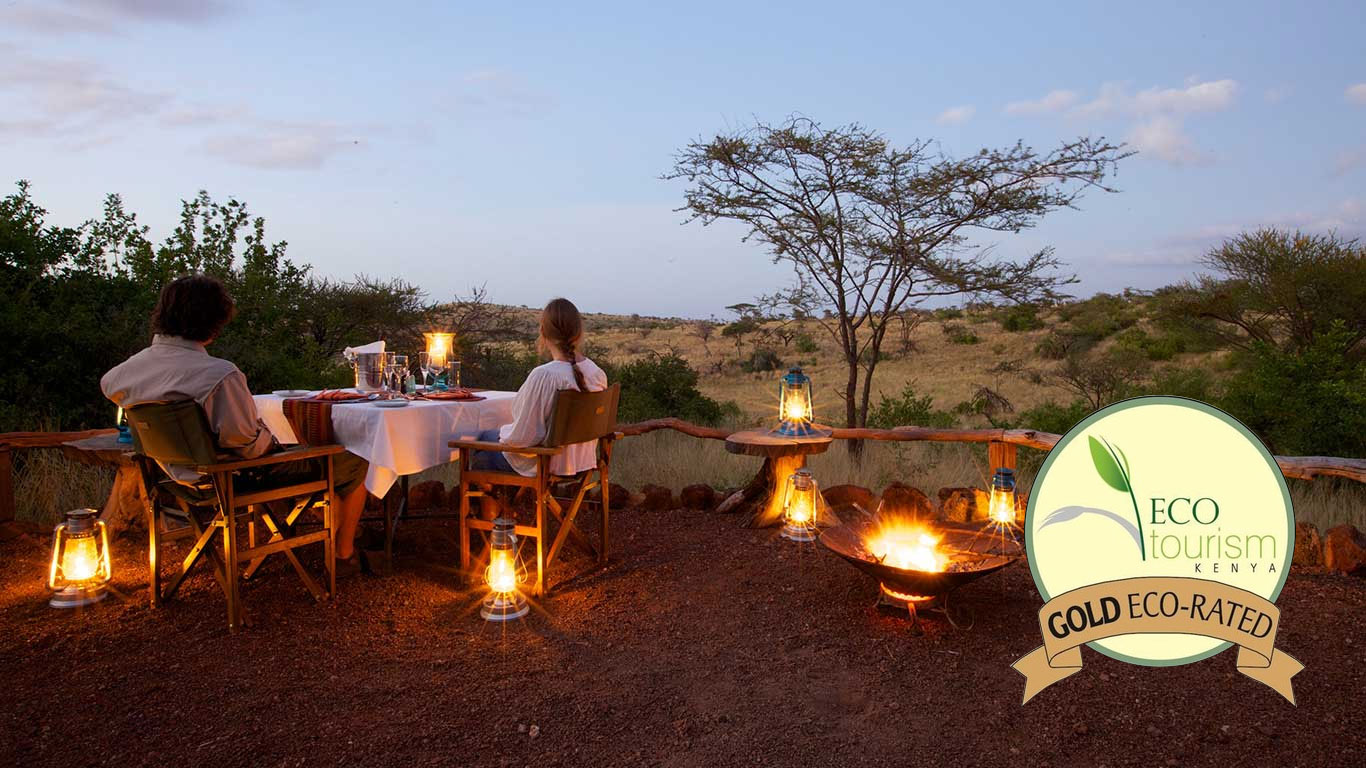 lewa safari camp gold eco rating