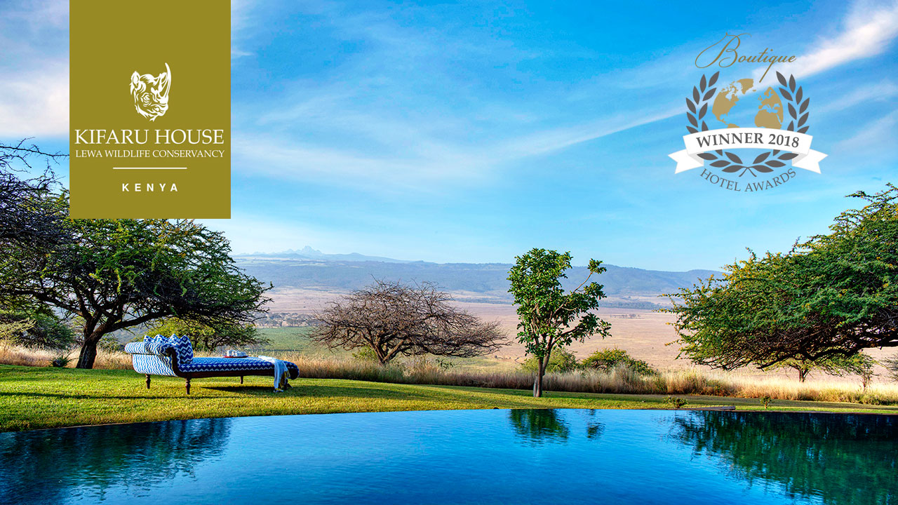 boutique hotel awards winner kifaru house